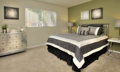 Bedroom, Creekside Gardens Apartments, 2