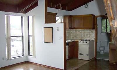 Kitchen, Amber Apartments, 1