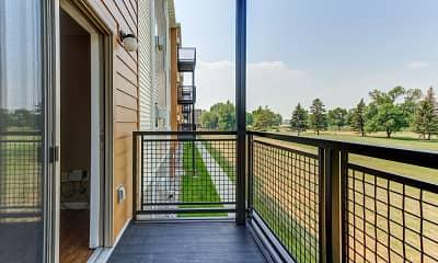 Patio / Deck, McEnroe Place Apartments, 2