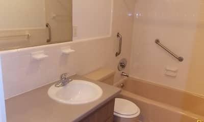 Bathroom, Captain Parker Arms, 2