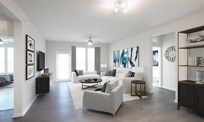 Living Room, Legacy Union Square, 1