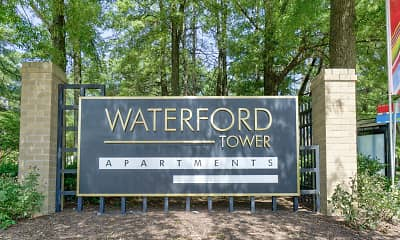 Community Signage, Waterford Tower, 2