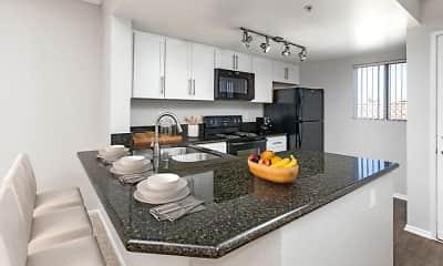 Kitchen, Camden Sea Palms, 1