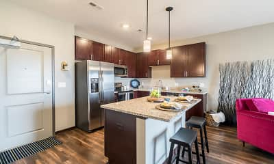 Kitchen, 360 at Jordan West, 1