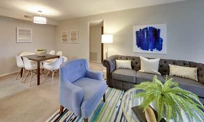 Living Room, Hunter's Chase, 1