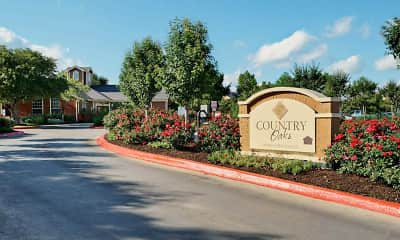 Community Signage, Country Oaks Apartments, 2