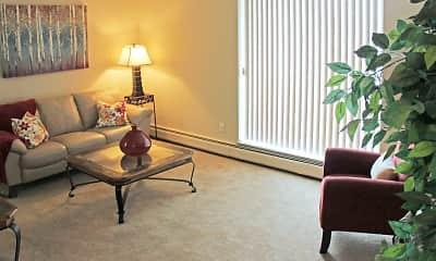 Living Room, Westbrook Village, 1