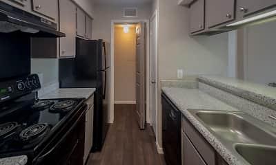 Kitchen, Trinity Mills Apartments, 1