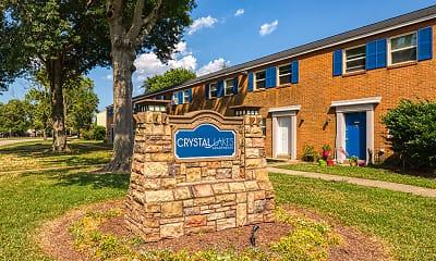 Community Signage, Crystal Lakes, 0