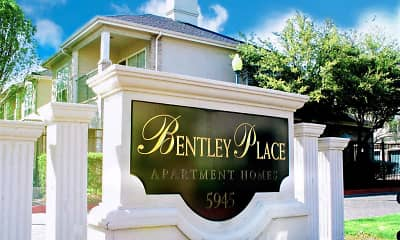 Community Signage, Bentley Place At Willow Bend, 0