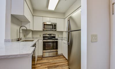 Kitchen, Residences at Tewksbury Commons, 1