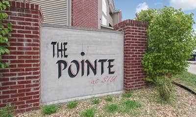 Community Signage, Pointe at SIU, 2