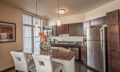 Kitchen, Watermark Lofts, 1