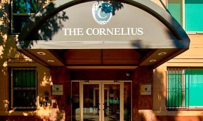 Community Signage, The Cornelius, 1