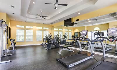 Fitness Weight Room, Inverness Lakes, 2