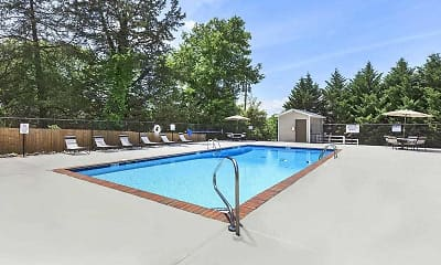 Pool, Ridgeside Apartments, 1