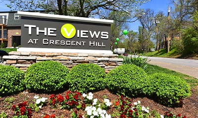 Community Signage, The Views at Crescent Hill, 0