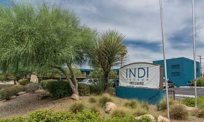 Community Signage, INDI Tucson, 2