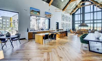 Dining Room, Circa Fitzsimons Apartments, 1