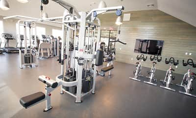 Fitness Weight Room, Grove Crossing, 2
