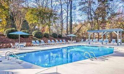 Pool, Edgewater Village Apartments, 1