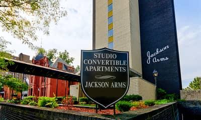 Community Signage, Jackson Arms, 2
