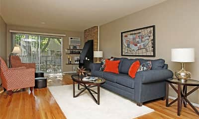 Living Room, Amber Apartments, 0