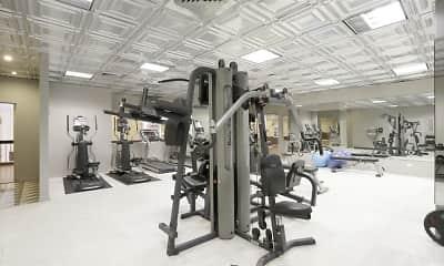Fitness Weight Room, Sheridan Plaza, 2