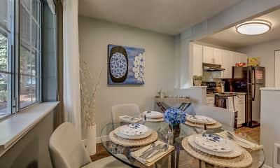 Dining Room, Cedar Crest, 1