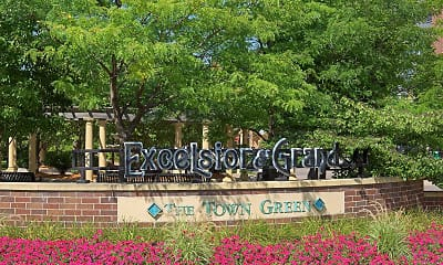 Community Signage, Excelsior And Grand, 2