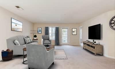 Living Room, Arbor Lake, 0