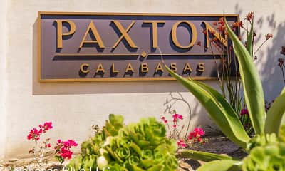 Community Signage, Paxton Calabasas, 2