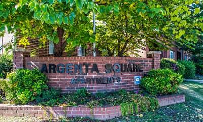 Community Signage, Argenta Square, 2