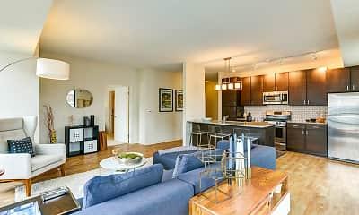 Living Room, Junction Flats, 1