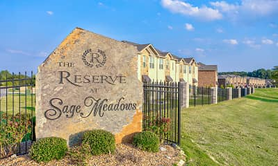 Community Signage, The Reserve at Sage Meadows, 2