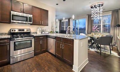 Kitchen, The Olivia on Main, 0