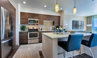 Kitchen, The View At Cascade, 1