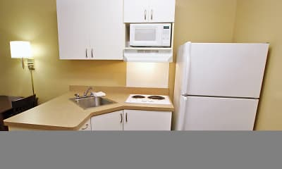Kitchen, Furnished Studio - Fort Lauderdale - Plantation, 1