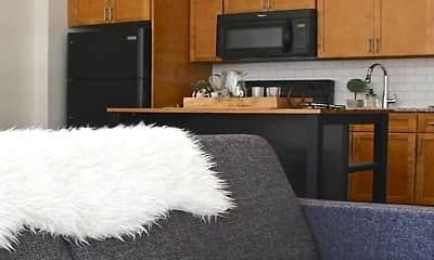 Kitchen, HSW Apartments, 0
