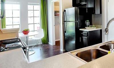 Kitchen, RIO@1604 Apartments, 2