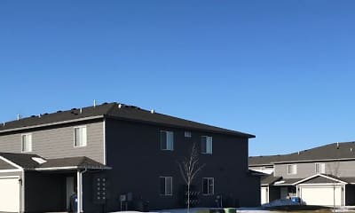 Building, Beal Townhomes, 2