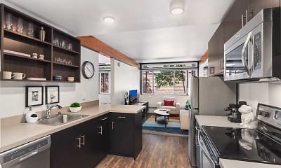 Kitchen, MOD Apartment Homes, 0