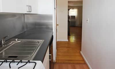 Kitchen, Styertowne Apartments, 1