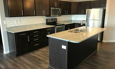 Kitchen, Grayhawk Apartments, 0