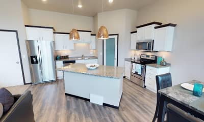 Kitchen, Diamond Creek Town Homes and Twin Homes, 0