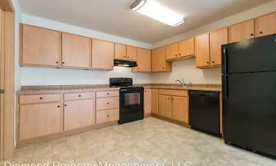 Kitchen, Woodland Estates, 1
