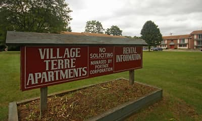 Community Signage, Village Terre, 2