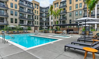 Pool, MV Apartments, 1