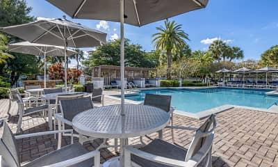 Pool, Kings Colony Apartments, 1
