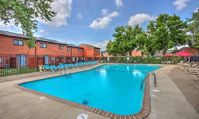Pool, The Mint Townhomes, 2
